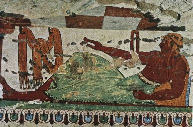 Tomb of the Leopards