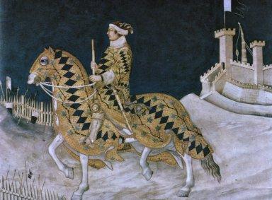 Portrait of Guidoriccio da Fogliano
