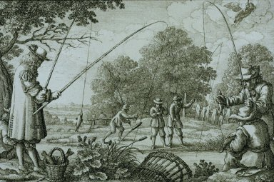 Several Ways of Hunting, Hawking and Fishing According to the English Manner