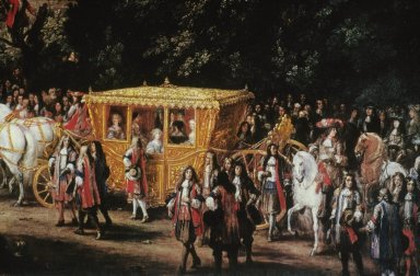 Solemn Entry of Louis XIV and Queen Maria Theresa into Arras, 22 July 1667