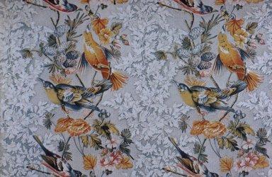 "Audubon's ""Birds of America"" Cotton Print"