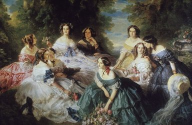 Empress Eugenie, Surrounded by her Ladies-in-Waiting