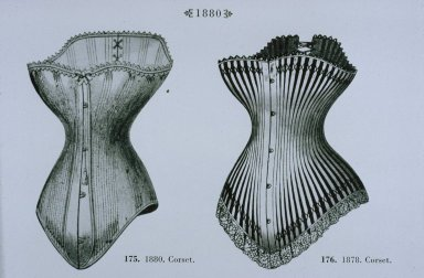 Corsets from 1878-1880