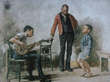Negro Boy Dancing
