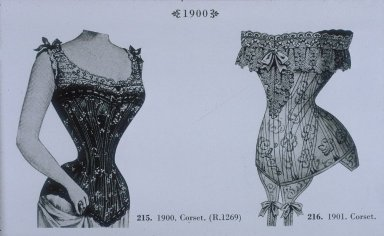 Corsets from 1900