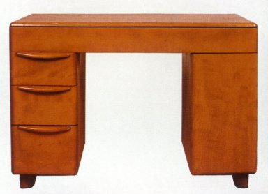 Art Deco Kneehole Desk