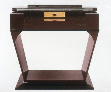 Art Deco Pedestal-Base Desk