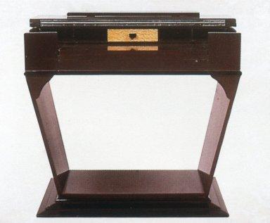 Art Deco Pedestal-Base Desk