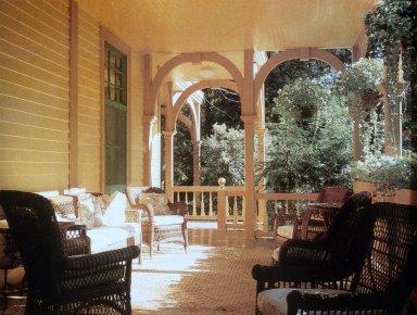 Porch Furniture at Leake House