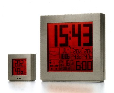 Oregon Scientific Time and Weather Station