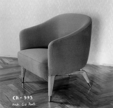 Model 593 Small Armchair