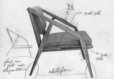 Folding Armchair Prototype
