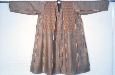 Lambani Embroidery Tussar Coat