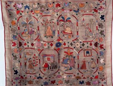 Chamba Rumal Embroidery