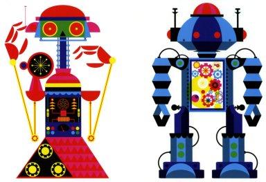 Robot 3 & 1