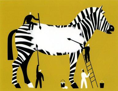 Censor a Zebra