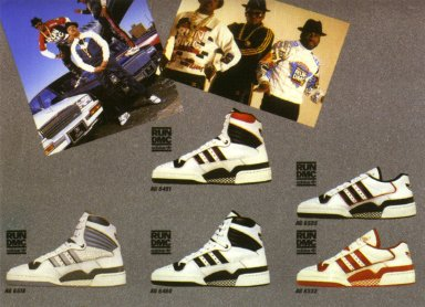 Adidas Catalog Featuring Run-DMC Sneaker Line
