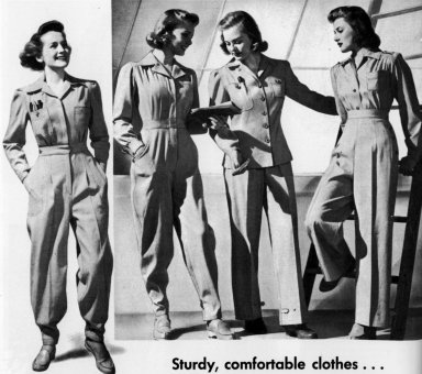 Sturdy Work Clothes for Women