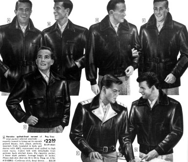 Hercules Warmly Lined Leather Jackets and Surcoats