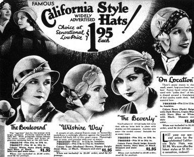 California Style Hats