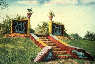 Decorative Topiary Residual Tradition-Gates Ajar, Como Park, St. Paul, Minn