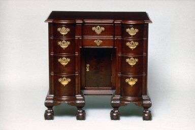 Chippendale Bureau Table