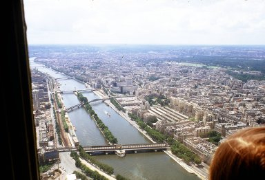 Paris from the Eiffel Tower: The Right and Left Banks
