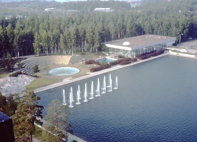 Tapiola Swimming Hall
