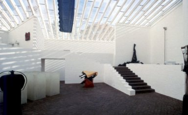 Glass House: Sculpture Gallery