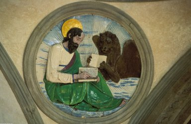 Pazzi Chapel; Interior Medallions