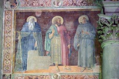 Santa Croce Fresco Fragments (Nave)