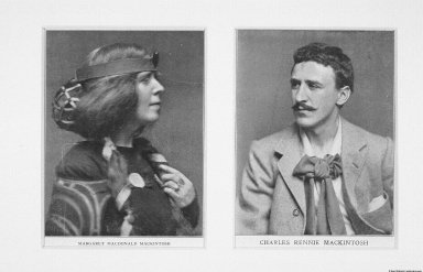Howarth Collection: Photographs of Charles Rennie Mackintosh and Margaret Macdonald