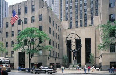 Rockefeller Center; International Building