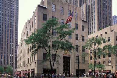 Rockefeller Center; British Empire Building