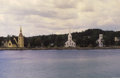 Mahone Bay: Topographic Views