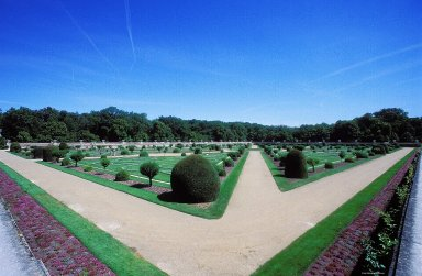 Ch¿teau de Chenonceau: Gardens