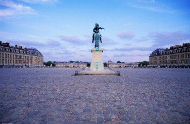 Versailles: Equestrian Statue of Louis XIV