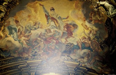 Il Ges¿ Ceiling and Dome Frescoes