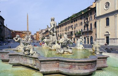 Piazza Navona: Topographic Views