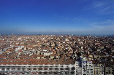 Venice: Aerial Topographic Views