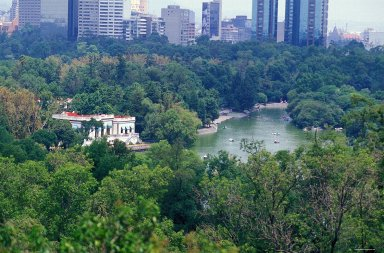 Chapultepec Park: Topographic Views