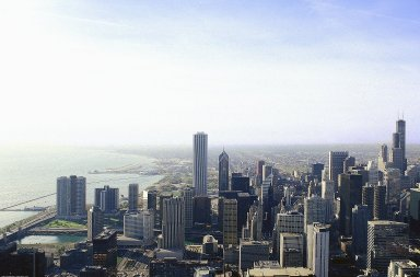 Chicago: Aerial Topographic Views