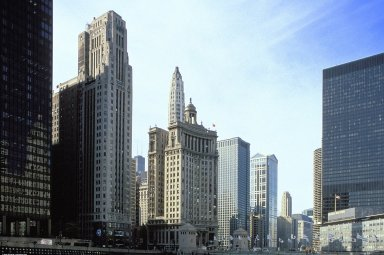 Chicago: Topographic Views; Michigan Avenue