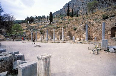 Delphi: Roman Agora