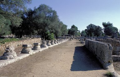 Olympia: Leonidaion