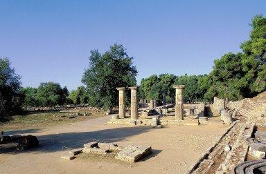 Olympia: Temple of Hera