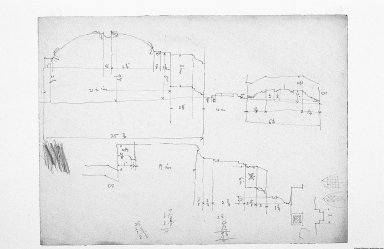 Howarth Collection: Mackintosh Sketches in Italy