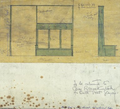 Howarth Collection: Mackintosh Furniture Drawings