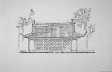 Chinese Gardens of Suzhou: Drawings