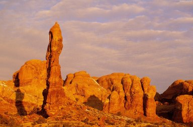 Arches National Park: Topographic Views
